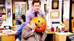 Jim Halpert Halloween by The Office Halloween Gif Find U0026 Share On Giphy