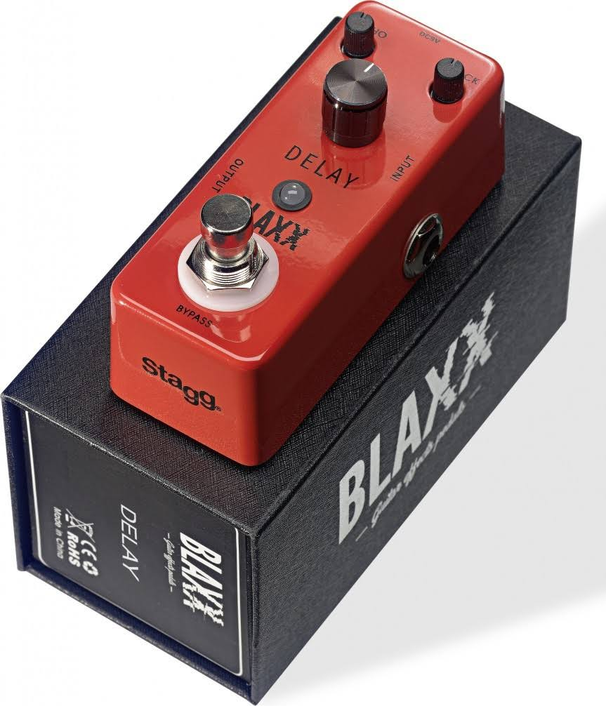 Stagg Blaxx Bx-delay Delay True Bypass Guitar Effects Pedal