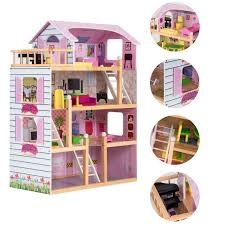Barbie Doll 3 Story Deluxe Pink Dream Furnished Townhouse House NEW
