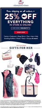 Pinned November 26th: 25% Off Everything At Vineyard #Vines ... Honda Of The Avenues Oil Change Coupon Go Fromm Code Shopcom Promo Actual Whosale Vineyard Vines Coupons Extra 50 Off Sale Items At Rue21 Up To 30 On Your Entire Purchase National Corvette Museum Store Vines December 2018 Redbox Deals Text Webeasy Professional 10 Da Boyz Pizza Fierce Marriage Discount Halloween Chipotle Vistaprint T Shirts Coupon Code Bydm Ocuk Oldum Ux Best Practice The Allimportant Addtocart Page