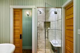 Eclectic Door Locks With Wooden Bathroom Vanities Tops Beach Style And Wood Molding