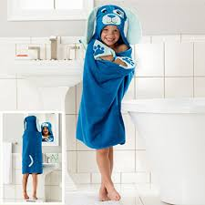 Cartoon Childrens Bath Towels Cotton Robe Cloak Baby Swimming Towel