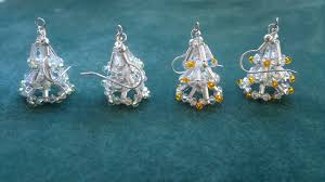 Beading4perfectionists Christmas Tree Earring Video Version Beginning Beaders Tutorial