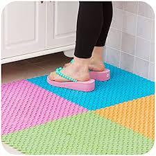 teppiche dusche bad pvc basteln mat teppich mosaik