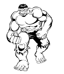 Epic Hulk Coloring Page 47 For Picture With
