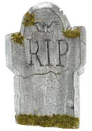 Funny Halloween Tombstones by Mossy Bat Tombstone