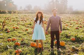 Pumpkin Patch Naples Fl by Engagement Session In A Pumpkin Patch Jenafer Morgan Green
