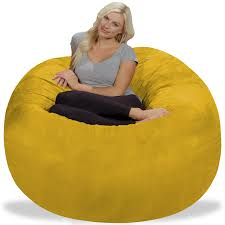 Chill Sack 5 Ft Bean Bag Chair, Multiple Colors/Fabrics - Walmart.com Pebble Sofa Nini Andrade Silva Sofas Bean Bag Chair Livingroomfniture Beanbagsaporelivingroom Sgbeans Amazoncom Chill Sack Bag Chair Giant 7 Memory Foam The Orca Big Beanbag Company Cornwall Indoor Bags Archives Mrphy Shiloh Modern Long Wool Sheepskin Fur Kathy Kuo Home Comfy Sacks 4 Ft Grey Visit The Dove Oyster Diy A Little Craft In Your Day Tutorials Diy Jaxx Denim Cocoon 6 Reviews Wayfair How To Make A