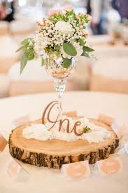 Rustic Burlap Wedding Centerpiece Casual Centerpieces With Wood Detail