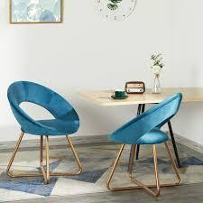 esszimmerstuhl samt stuhl blau küchenstuhl polsterstuhl