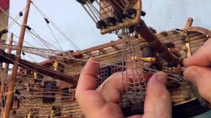 Hms Bounty Tall Ship Sinking by Head Cam Hms Bounty Model Construction Video Pov Action Cam By