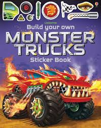 100 Build Your Own Truck Monster Sticker Book Tomfoolery Toys And Books