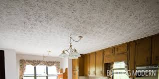 Skip Trowel Ceiling Pictures by Stomped To Smooth Skim Coating A Ceiling Diy