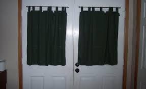 Patio Door Window Treatments Ideas by Curtains Door Curtain Ideas Pinterest Long Door Curtains Better