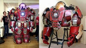 How To Build An Iron Man Hulkbuster Helmet Suit James Bruton