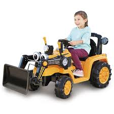 Little Tikes Cozy Dirt Digger Electric 12V Battery Ride On Toy With ...