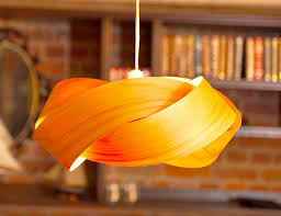 Laser Cut Lamp Shade by Minnow Twist Lamp Shade Is Made From Macrocarpa And Laser Cut