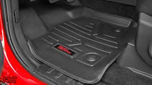 2015-2016 Ford F-150 Floor Armor: Heavy Duty Floor Mats By Rough ... Deep Tray Rubber Mud Mats The Ultimate Off Road Floor 092014 F150 Husky Whbeater Front Rear Black 3d For 22016 Ford Ranger All Weather Liners Set Buy Plasticolor 0189r01 2nd Row Footwell Coverage New F250 350 450 Supeduty Oem Fseries Logo Truck 01 Amazoncom Oxgord 4pc Tactical Heavy Duty 2010 Ford F 250 Weathertech Review Weathertech Mat Buying Guide Digalfit Free Fast Shipping Top 8 Best Nov2018 Picks And Bed W Rough Country 52018 Pickups