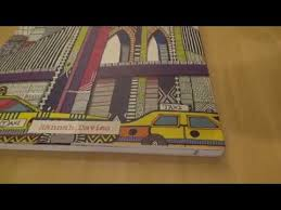 3D Coloring New York City Book By Hannah Davies Review And Flip Through