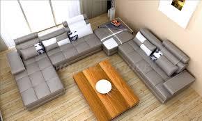canapé d angle pouf canapé d angle en cuir avec méridienne et pouf brasilia