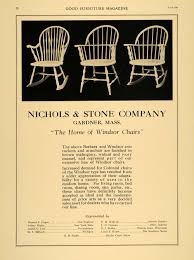 1921 Ad Nichols Stone Co Barbara Windsor Rockers Original ... Nichols Stone Stenciled Maple Deacons Bench Fantastic Antique Midcentury Maple Boston Rocker Rocking Chair In Hamilton South Lanarkshire Gumtree Nichols Stone Details About Solid Hard Rock Windsor 20 An Late 20th Century Traditional Colonial Style And Living Room Weminster Ns566rw Lot 123 Auction By Norcal Online 1970s Vintage Hitchcock Co Restoration Of A Rocking Chair Antique Appraisal Instappraisal Cherry Jonathan Steele