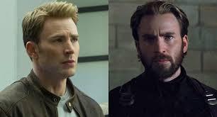 Chris Evans Captain America Avengers Infinity War Makeover