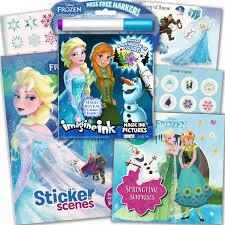 Disney Frozen Imagine Libro Actividades Colorear Incluye 2