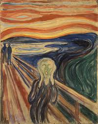 Expressionists Like Edvard Munch 1863 1944 Used Line Color To Suggest Emotion