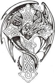 Dragon Color Page Fantasy Medieval Coloring Pages Lord Celtic By TheLob On DeviantART