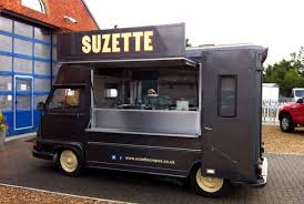 Renault Estafette Van Conversion Crepe Suzette