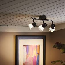 can track lighting be mounted on a wall tomic arms