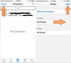 All iPhone contacts gone or not showing Recover