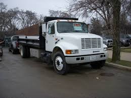 SOLD) International Dump Truck • Contractors Equipment Rentals (630 ...