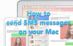 OS X Yosemite SMS Main Pic
