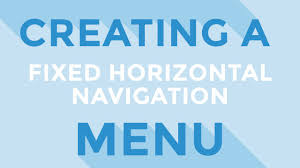 HTML & CSS : Creating A Fixed Horizontal Navigation Menu - YouTube Bootstrap Blue Template Fixed Sidebar Header Inowxpmid9 How To Make A Responsive And Fixed Navbar Using Html Css Code Quick Tip Code Scrolling Navigation Bar The Most Popular Html Css Js Framework In The World Helpdocs Support Fding Selectors From Your Browser Javascript Menu Navigation Stack Sticky Header Visible When Scrolling On Mobile Es En Floating Top Css Jquery Menu Lawrahetcom Html Aligning Menus In Html5 Metronav Metro Ver By Sohn Codecanyon 15 Cool Rainbow Chocolates