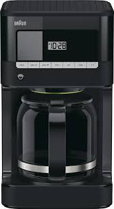 Braun BrewSense 12 Cup Coffee Maker Black KF7000BK