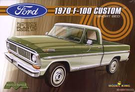 1970 Ford F-100 Custom Short Bed Pickup (Model Car) Images List