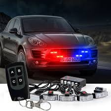 1 Kit LED Red Blue Car Truck Strobe Emergency Warning Lights Bar ... Strobe Light Police Lights Car Styling 4 Yellow Amber Led Flash Ford Expands Firstever Factoryinstalled Warning Led 1 Kit Red Blue Truck Wireless Emergency Wolo Emergency Warning Light Bars Halogen Strobe 6pc Work Dual Function 60watt Lights For Vehicles Amazoncom Jackey Awesome 16led 18 Flashing Mode Hideaway Mini Vehicle 2x22 Flasher Lamp Bars With Lamphus Sorblast 34w Cstruction Tow White Beacon Trucklite Super 60 Integral 60120y