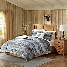 lodge style bedding bedding sets lodge curtains bed bath beyond
