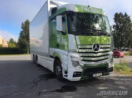 100 Mercedes Box Truck Used Benz Actros Box Trucks Year 2015 For Sale Mascus USA