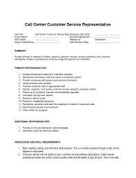 Call Center Supervisor Resume Example
