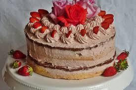 erdbeer buttercreme torte im cake style zum 1
