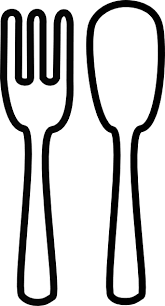 Staggering Fork And Spoon Clip Art 38 For Clipart With Fork And