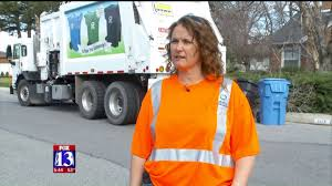 Utah Woman Picks Up National Garbage Truck Driver Of The Year Award ...
