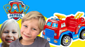 100 Power Wheels Fire Truck PAW PATROL Marshalls By A New