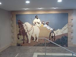 Jehovah Witness No Halloween by Mosaic Over Baptismal Pool Jehovah U0027s Witnesses Assembly Hall In