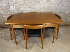 Harry Ostergaard Danish Teak Dining Table And Chairs Set