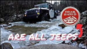 100 Teels Trucks Are ALL Jeeps Really Trail Rated YouTube