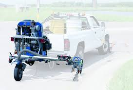 100 Lazer Truck Lines Graco Mounted Line Stripers