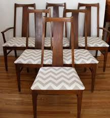 Wayfair Dining Room Chair Cushions by Dining Rooms Impressive Chevron Dining Chairs Design Chevron